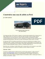 Casa de Adobe en Perú