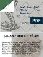 Kaal Sarp Yog & Dosh- Astro Counseling Advice