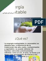 La Energía Sustentable