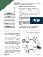 market economy - worksheets
