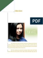 Biografi Yuki Kato