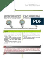 PD205 PD206 Manual