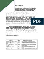 Relatoro de Química-4 Relatividade Dos Metais