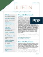 Bulletin 2015 1st Ed. 1