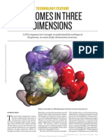 Genomes in Three Dimensions