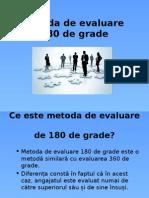 Metoda de Evaluare 180 Grade