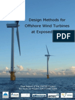 Report 020 - Design Methods for Offshore Wind Turbines at Exposed Sites