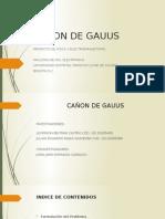 Cañon de Gauus
