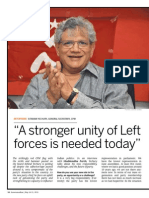 """""""A stronger unity of Left forces is needed today"""""""