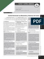 Costos y Control Gerencial