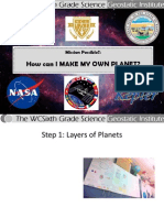 Make a Planet Booklet