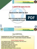Presentacion Para Ips Res 2003 de 2014