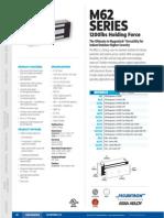 Securitron M62 Data Sheet