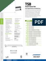 Securitron TSB Data Sheet