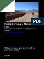 Revolucionando El Mundo de Los Negocios en Casa Por Internet. Por Alberto Mayorga