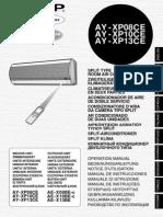 Sharp Ay Xp08ce Ay Xp10ce Ay Xp13ce PDF Rus