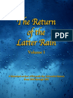 Return of the Latter Rain