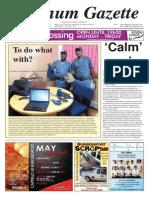 Platinum Gazette 15 May 2015