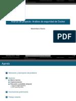 Análisis de seguridad Docker