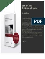 Presentación de Juan José Saer. La Felicidad de La Novela