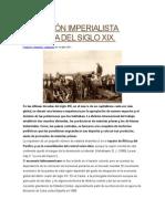 Expansión Imperialista Europea Del Siglo Xix