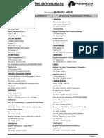 Listado de Prestadores ART