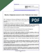 Marche, artigianato ancora in crisi. Il fatturato non cresce - Anconaonline.it, 13 maggio 2015