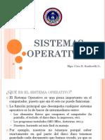 1 Sistemas Operativos Introducción