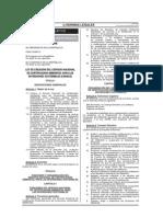 Ley N° 29968-2012 Creación SENACE