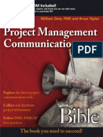 Project Management Communications Bible (William Dow)