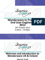 161 Wonderware in Practice Presentation 161