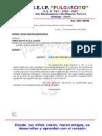 Resolucion de Retiro Pulgarcito