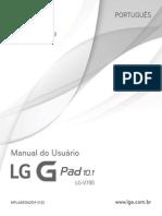 Tablet Lg v700