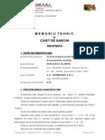 Memoriu Tehnic Si Caiet de Sarcini DDE_Constructia Unei Case