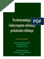 Substancje Roslinneo Działaniu Psychostymulujacym i Halucynogennym Jurata 2010 Polskie Wersja Short2
