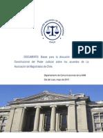 Propuesta Asociación Nacional de Magistrados