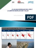 Aguas Residuales en El Peru en Lima y Callao