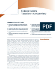 chapter 1 -federal income taxation - an overview