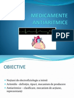 Medicamente Antiaritmice Curs