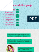 Funciones Del Lengauje y Aplicaciones