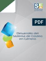 Desarrollo del Sistema de Costeo en Género