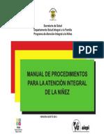 Manual Procedimientos AIEPI 08-2013