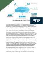 Historia de La Nube Computacional