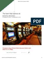 opinion- the harm that casinos do - cnn com