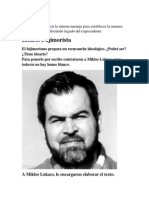 Ideario Fujimorista. Por Enrique Chavez