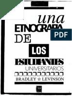 Una Etnografia de Los Estudiantes Universitarios