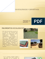 Pavimentos Ecológicos y Deportivos