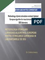 METODOLOGIA STIMULARII LUMINOASE