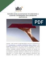 Gemalto lanza sus exclusivas incrustaciones y cubiertas ultradelgadas para pasaportes electrónicos_1