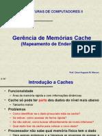 Gerencia de Memorias Cache